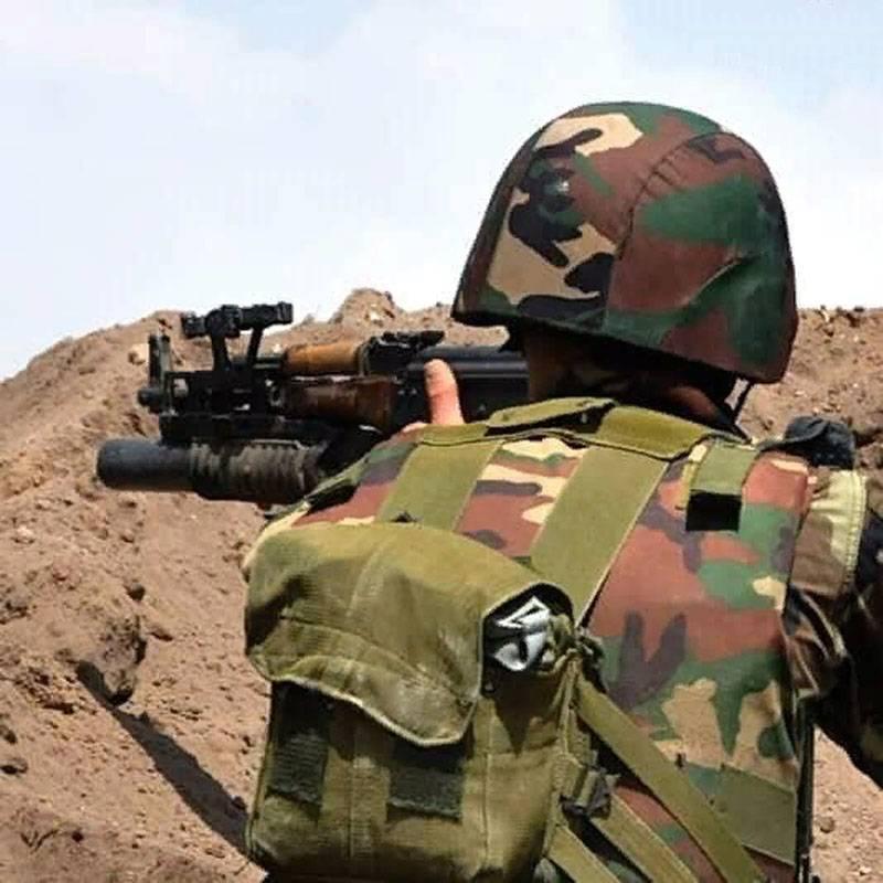 시리아 군대가 무장 세력을 몰아 내고 세라 키브에 들어갔다