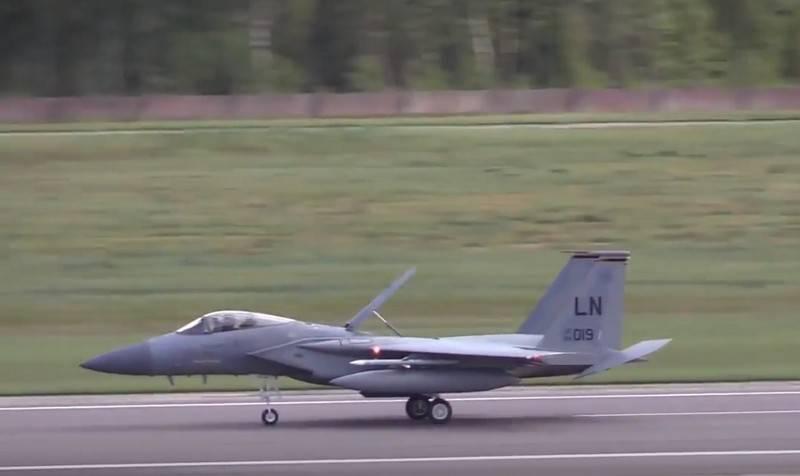 A Estônia abriu seu espaço aéreo para exercícios da Força Aérea dos EUA