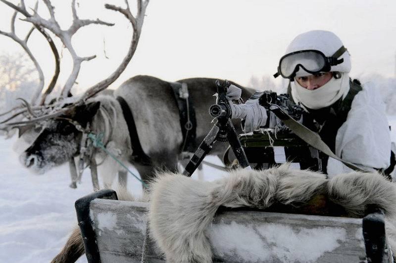 국방부는 북극에서 러시아와 군사 충돌의 가능성을 평가