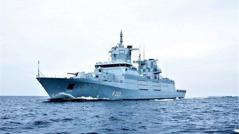 德国海军接收第二艘F125级护卫舰