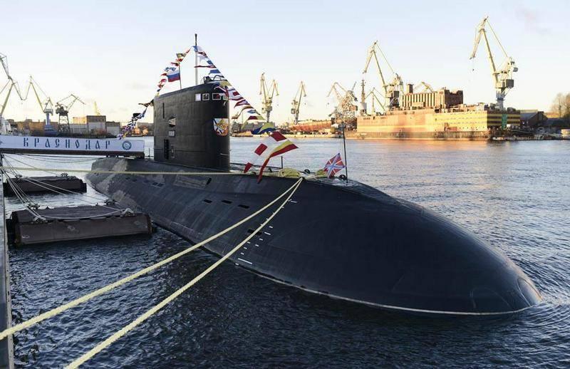 """A frota do Mar Negro do DEPL """"Krasnodar"""" será programada para reparos em abril deste ano"""