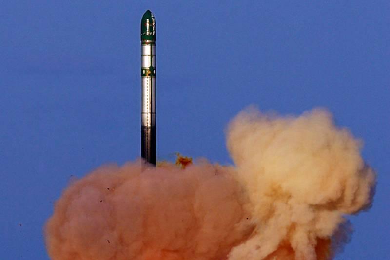 러시아는 2020 년에 20 개의 ICBM RSV Voevoda를 활용할 예정이다