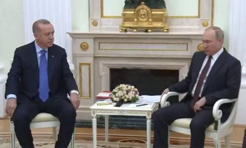 Putin - Erdogan: o exército sírio nos últimos dias sofreu sérias perdas