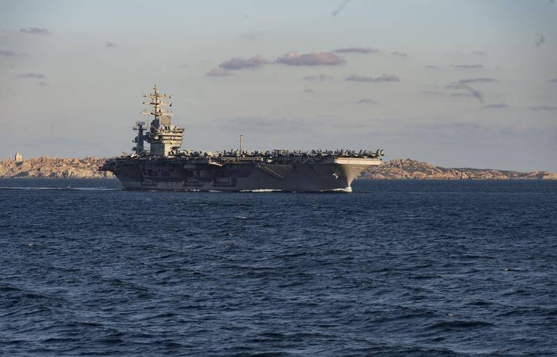 Marinha dos EUA retoma exercícios de treinamento de comboios navais na Europa