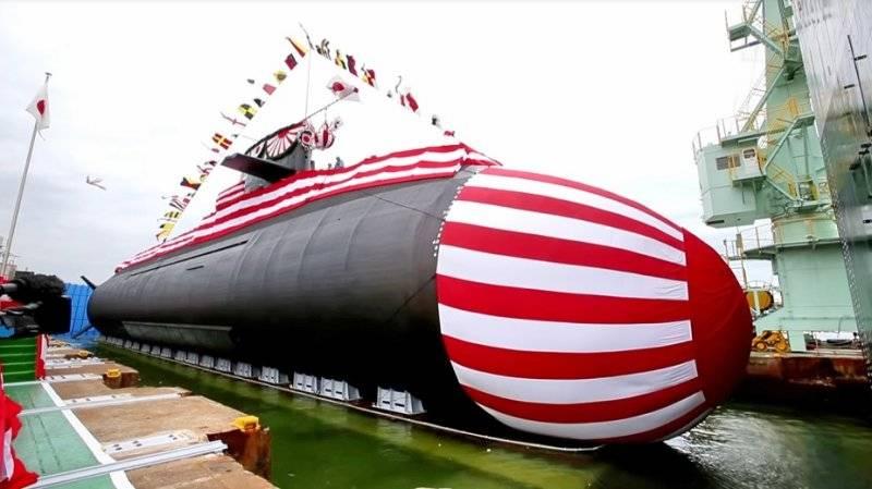 """La marine japonaise a reçu le onzième type de sous-marin """"Soryu"""""""