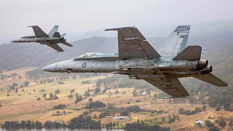 Australian F / A-18A / B Hornet sold to an American private company