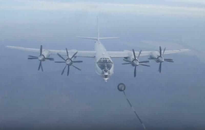 L'anti-sous-marin russe Tu-142 a effectué un vol de 15 heures au-dessus de l'Atlantique