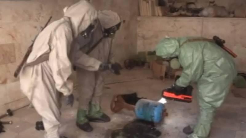 In Serakib wurden Beweise für die Vorbereitung einer Provokation mit chemischen Waffen gefunden