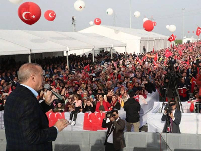 In der Türkei wurde ein Projekt angekündigt, das nicht unter das Montreux-Übereinkommen fällt