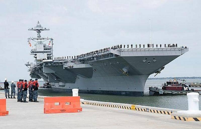 Marinha dos EUA pensa em reduzir o número de novos porta-aviões, como Gerald R. Ford