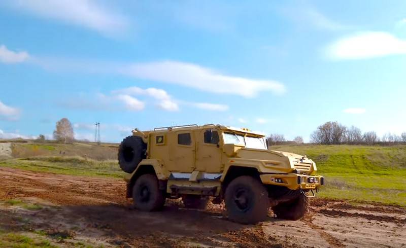"""The developer spoke about the new armored car """"VPK-Ural"""""""