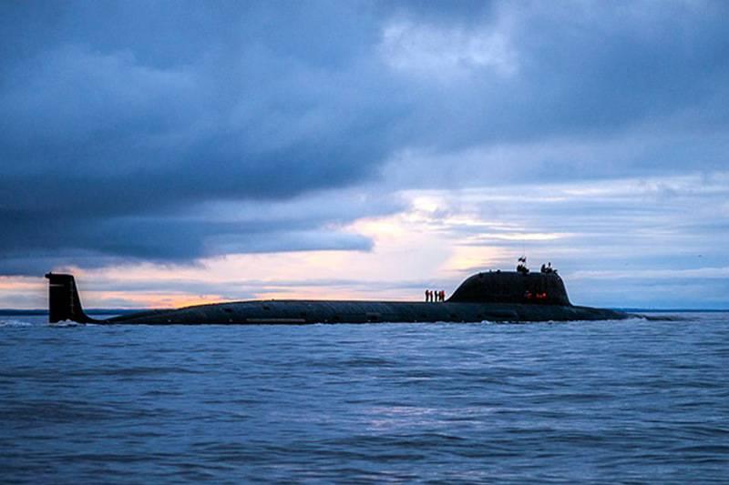 Severodvinsk Submarine에서 출시 된 초음속 지르콘