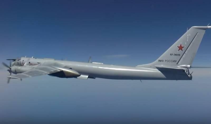 रूसी पनडुब्बी रोधी टीयू 142 अलास्का के पास उड़ान भरी