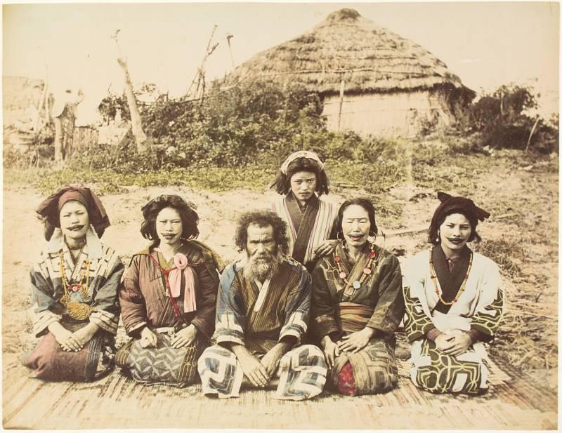 Ainu en Rusia