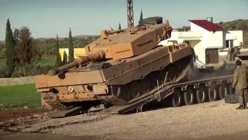 Turkey refused to withdraw heavy equipment from observation posts in Idlib