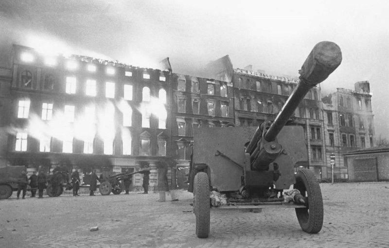 德军在上西里西亚战败