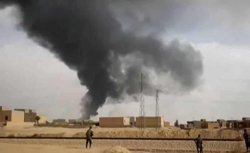 이라크의 미국 연합은 At-Tange의 기지에서 로켓 발사 사실을 확인