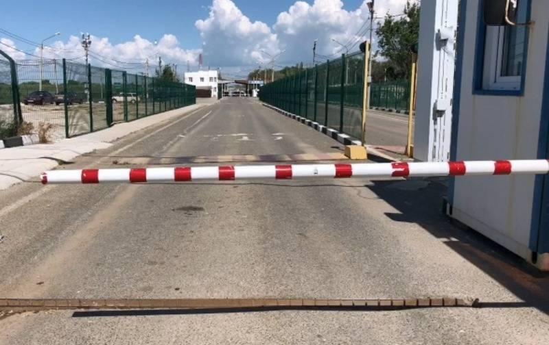 Die Ukraine hat die Grenze zur Krim vorübergehend geschlossen