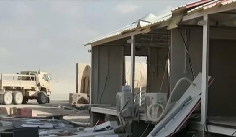 이라크에서 미군 연합의 차기 미사일 발사