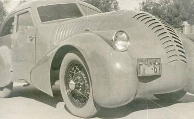 Carro experimental GAZ-A-Aero: racionalização, velocidade, lucratividade