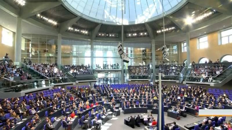 Le Bundestag a appelé à la levée des sanctions anti-russes