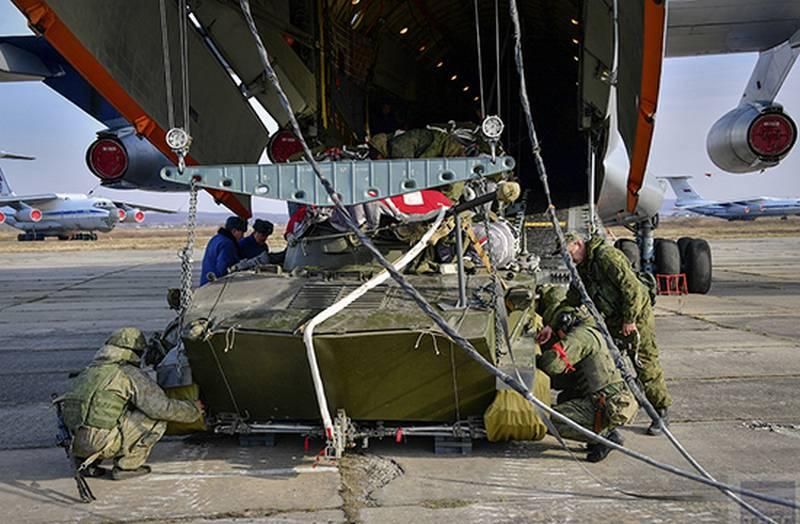क्रीमिया में, हवाई बलों के अभ्यास का सक्रिय चरण
