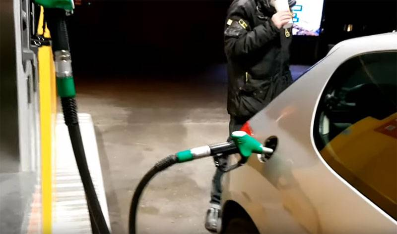 Gas prices went down, but not in Russia