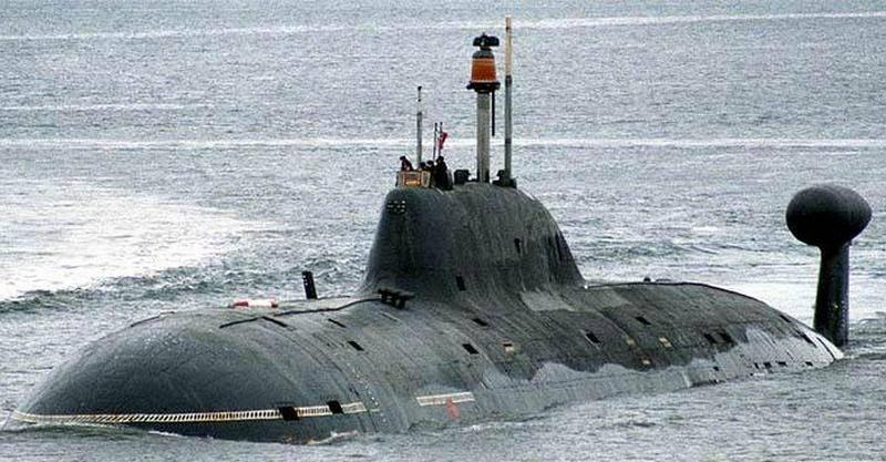 해군은 971 프로젝트 Vepr 핵 잠수함의 함대로 돌아 오는 기한을 발표했다