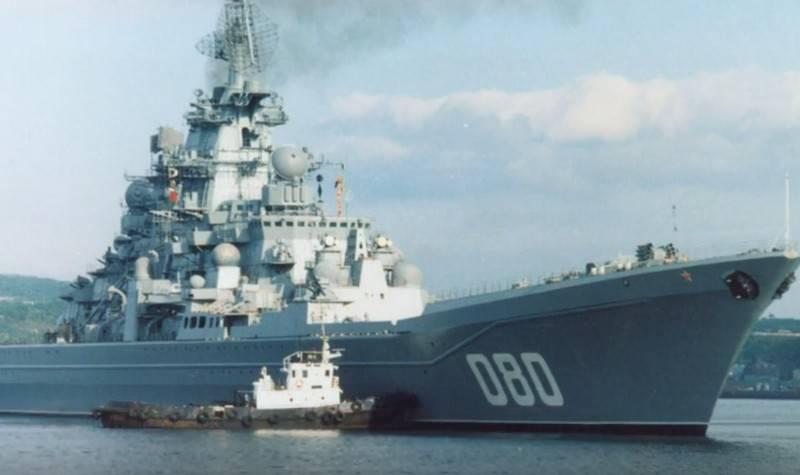 Chez TARKR «Amiral Nakhimov», une nouvelle étape des travaux de réparation a commencé