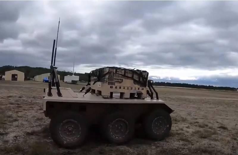 British Defense Ministry intends to test ground robots