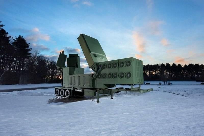 在美国,爱国者防空系统的新型雷达已经过测试