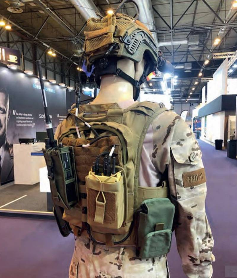 Technology will save the European soldier?