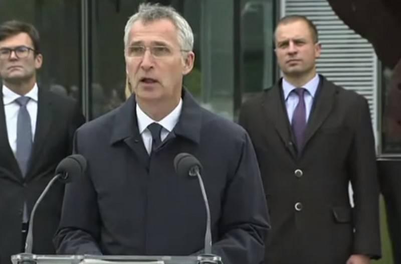 """北约秘书长宣布马其顿""""在不久的将来""""加入联盟"""