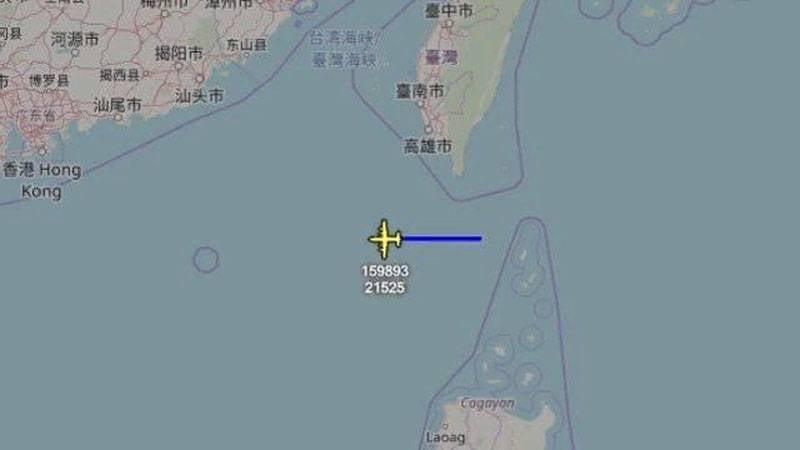 China reagiert negativ auf die US Air Force B-52 südlich von Hongkong