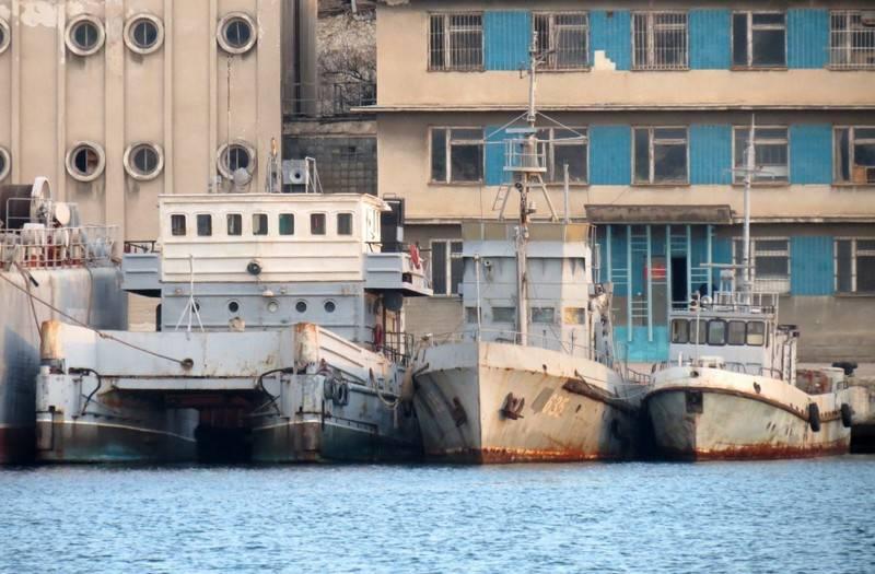 सेवस्तोपोल में, यूक्रेन द्वारा छोड़े गए जहाजों के दो समूहों का गठन पूरा हो गया है