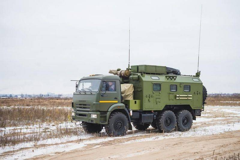 Rostec supplied the Russian Guard with a batch of modernized communications systems