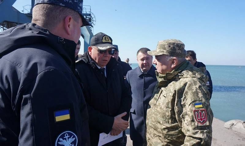 The new military base of the Ukrainian Navy will be built in Berdyansk