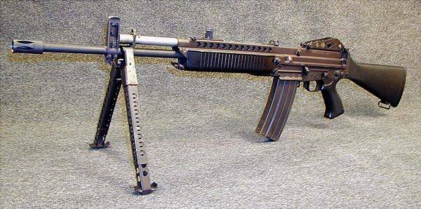 Stoner 63. Packing box-shifter. Baptism of fire in Vietnam