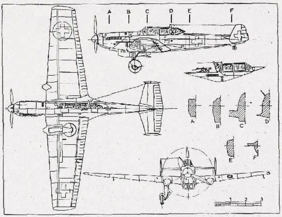 高山草原飛行機