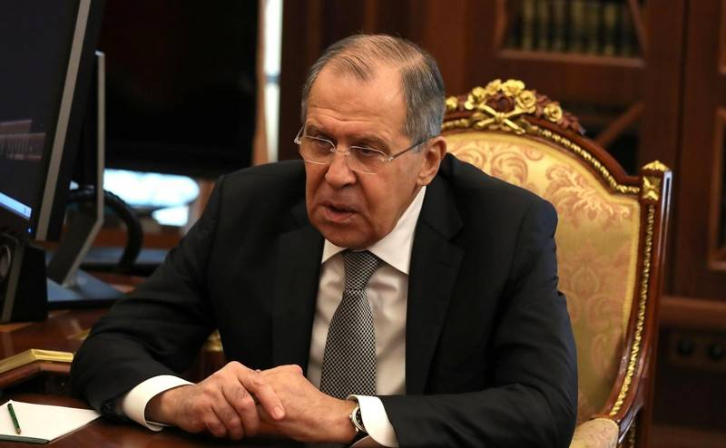 Foreign Minister Sergei Lavrov awarded the title of Hero of Labor of Russia