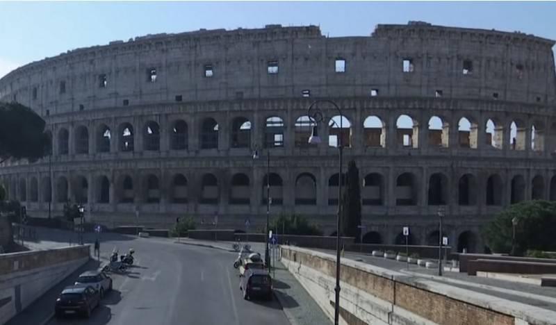 국방부는 의사와 바이러스 학자를 이탈리아로 보낸다