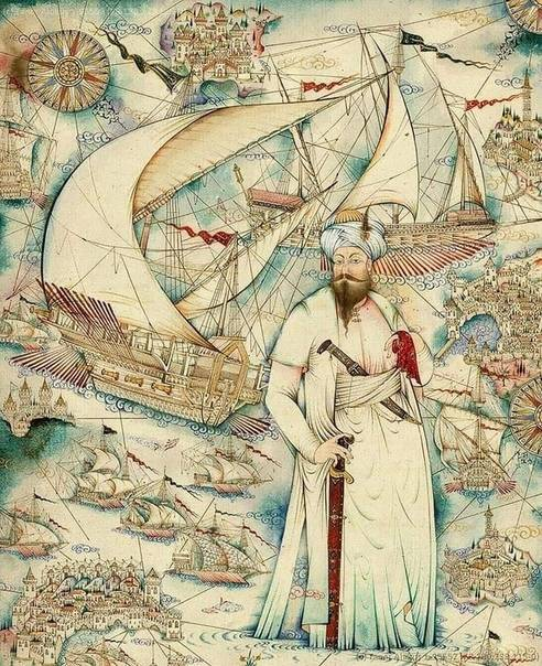 Ottoman pirates, admirals, travelers and cartographers
