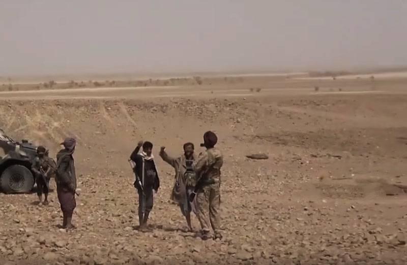 Hussiten zeigten Munition in der von Saudi-Arabien kontrollierten Koalition im Jemen