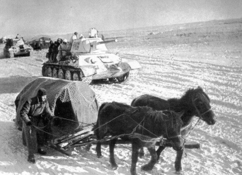 Nikolay Lebedev. Thunderstorm Romanian 1st Panzer Division
