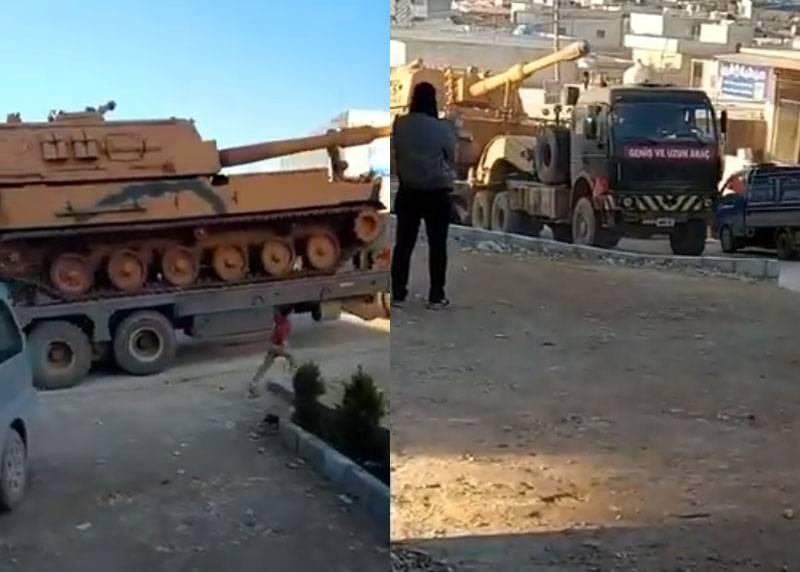 La Turquie n'a pas expliqué pourquoi Idlib jette de l'artillerie à longue portée vers des postes d'observation