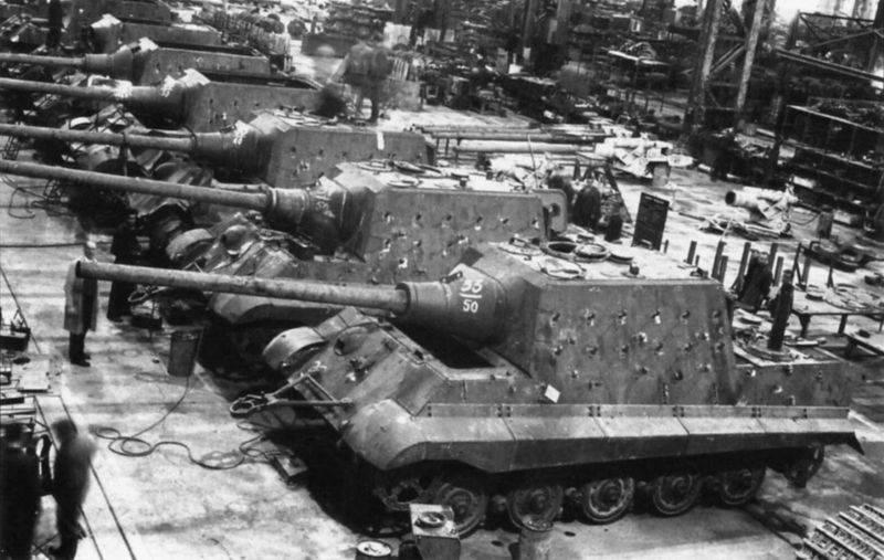 Armadura do tanque de soldagem: experiência alemã
