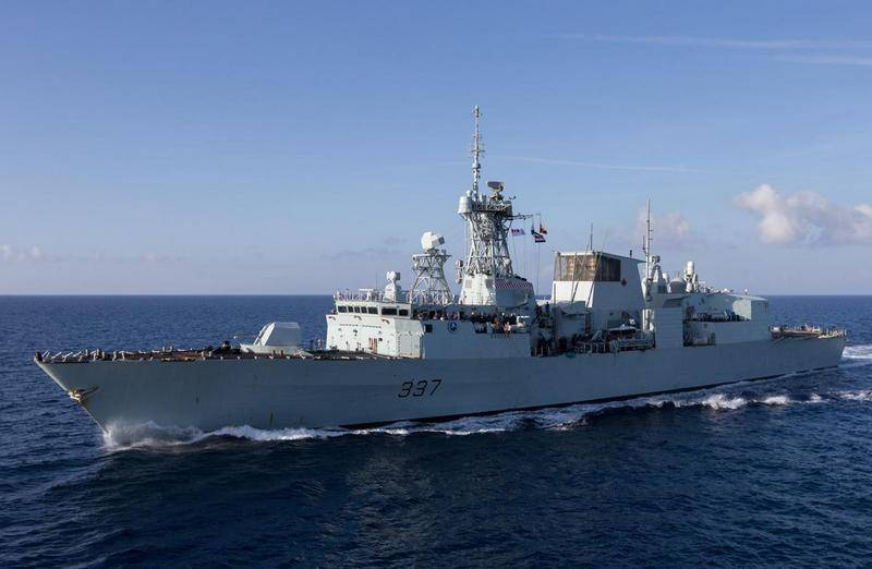 Warships of the Second NATO Naval Group enter the Black Sea