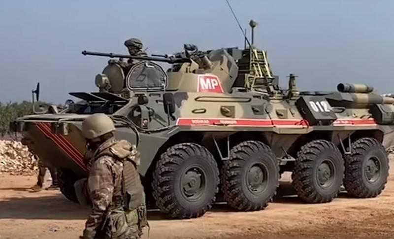 A segunda patrulha conjunta da rodovia M4 ocorreu em Idlib