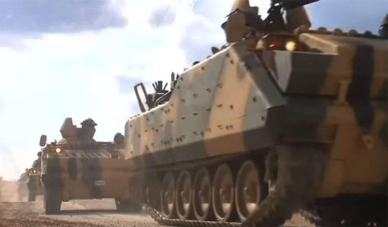 确认对伊德利布的土耳其巡逻队进行武装攻击