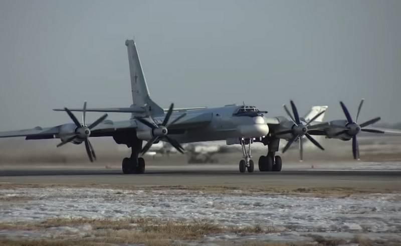 Une vidéo d'un vol Tu-95MS accompagné d'avions de chasse japonais est apparue sur le Web